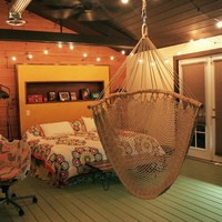 bedroom hammock | OneFortyThree