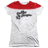 """Suicide Squad Harley Quinn """"Daddy's Lil Monster"""" Tee - Adult & Youth (12 Styles Available!)"""