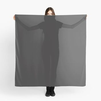 'Midnight Black' Scarf by Space & Lines