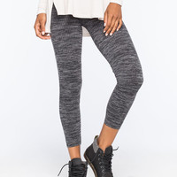 JUST ONE Space Dye Seamless Womens Leggings | Leggings