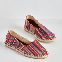ModCloth Boho Down and Desert-y Flat