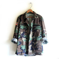 CAMO JACKET (ALL SIZES) from GET HIGH WAISTED
