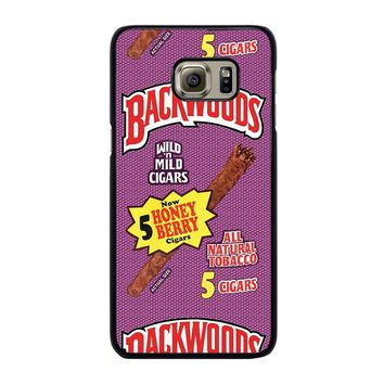 ONLY BACKWOODS CIGARS Samsung Galaxy S6 Edge Plus Case