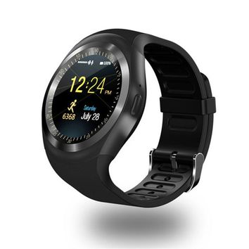 Round Screen Smart Watch Touch Screen Fitness Activity Tracker