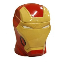 Chenier Iron Man - Head Lidded Cookie Jar