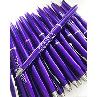Fuck You & Your Meeting Pen Set in Purple