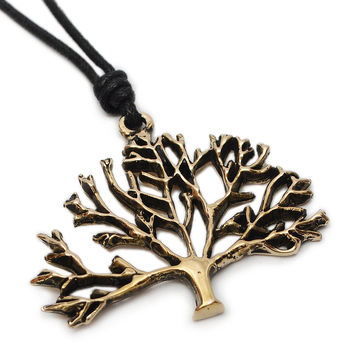 Celtic Tree Of Life Handmade Brass Necklace Pendant Jewelry