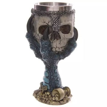 On Sale Cute Hot Deal Hot Sale Drinks Coffee 3D Skull Creative Cup [6283349702]