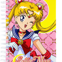 SAILOR MOON HARD COVER NOTEBOOK