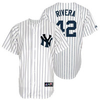 Mariano Rivera New York Yankees Women's #42 Majestic Replica Jersey - White