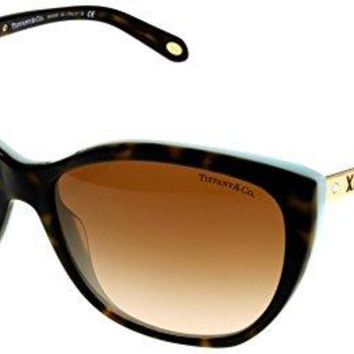 Tiffany & Co Sunglasses Womens Havana Butterfly TF4094B 81343B