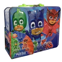 Party Favors Disney Keepsake Lunchbox Tin with Handle and 24 piece Puzzle