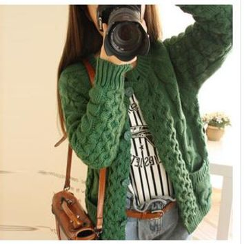 MLXSLKY Autumn new female wool cardigan women hot style sweater with thick sweater cardigan