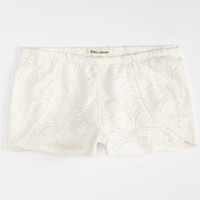 Billabong Wild Breeze Girls Shorts Cream  In Sizes