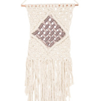 Macramé Medium Interlock Boho Wall Decor