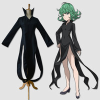One punch man tatsumaki Tornado Costumes  Terror S rate Hero Cosplay Halloween costume for women