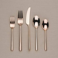 kate spade new york Malmo Rose Gold 5-Piece Flatware Set