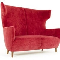 2 seater high-back sofa Hardy Collection by Dare Studio | design Sean Dare