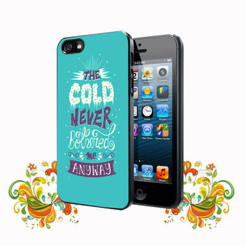 Frozen Collage Quotes iPhone 5, 5s, 5C, 4, 4S , Samsung Galaxy S3, S4, S5 , iPod Touch 4 / S Case