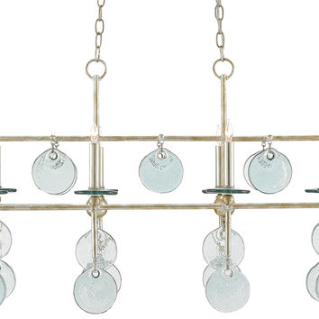 Currey Company Sethos Rectangular Chandelier