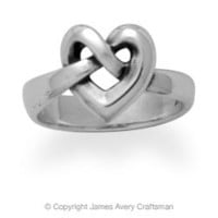 Heart Knot Ring from James Avery