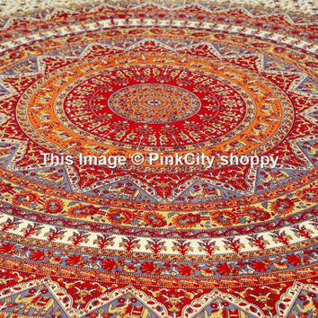 Queen Mandala Tapestries Hippie Hippie Tapestries Wall Hanging Indian Mandala Tapestries Elephant Mandala Wall Hanging Wall Tapestries Decor