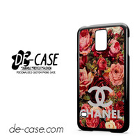 Floral Chanel 2 For Samsung Galaxy S5 Case Phone Case Gift Present YO