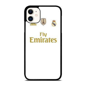 REAL MADRID HOME JERSEY iPhone 11 Case