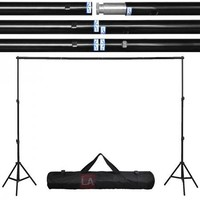 8x10 ft Portable Photography Background Backdrop Stand Kit