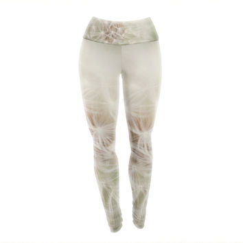 "Catherine McDonald ""Dandelion"" Yoga Leggings"