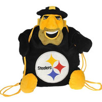 Pittsburgh Steelers NFL Plush Mascot Backpack Pal
