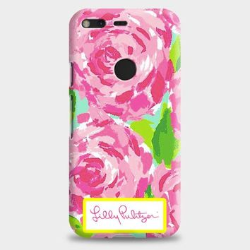Lilly Pulitzer First Impression Rose Inspired Google Pixel XL 2 Case | casescraft