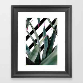 Gran Agave Art Framed Art Print by lostanaw
