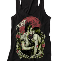 "Women's ""Undead Love"" Racerback by 2K2BT x Inked (Black)"