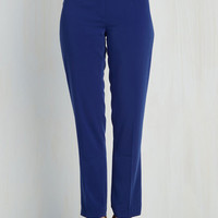80s Tapered Leg I Have a Profession to Make Pants by ModCloth