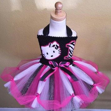 Hello Kitty Tutu Dress, Hello Kitty Party Dress