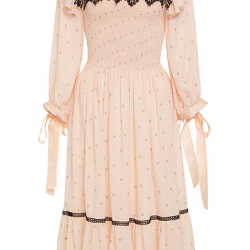 Embroidered Midi Dress | Moda Operandi