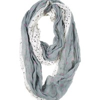 My Associates Store - Modadorn New Arrivals Spring & fall Star Light Infinity Scarf Women's fashion, clothing & accessories