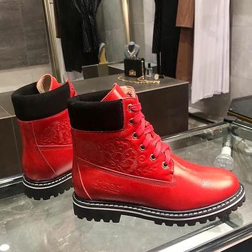 UGG Women Fashion Casual Leather Martin Boots Shoes
