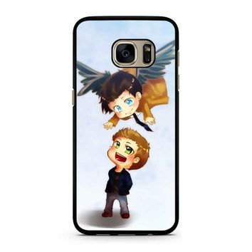 Supernatural Destiel Fanart Samsung Galaxy S7 Case
