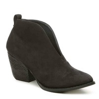 Holiday Black Bootie