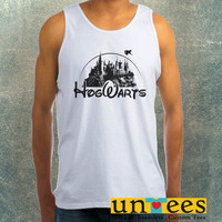 Hogwarts Disney Harry Potter Clothing Tank Top For Mens