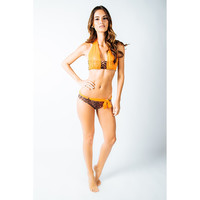 Tiger Print Bellini Two Piece Swim Suit
