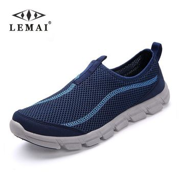 New Men Casual Shoes, Summer Mesh For Men,Super Light Flats Shoes, Foot Wrapping Big S