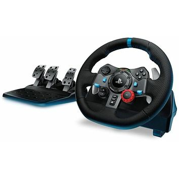 Logitech G29 Driving Force Racing Wheel and Pedals for PS3 PS4 PC MAC (IL/RT6...