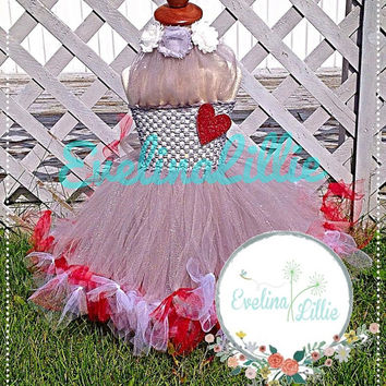 New Tin Man Inspired Tutu dress/ Halloween costume/Girls Halloween Costume Idea/ Wizard of Oz inspired tutu/ Tin Man inspired tutu dress