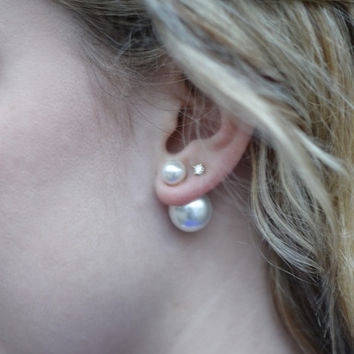 Pearl Peekaboo Earrings