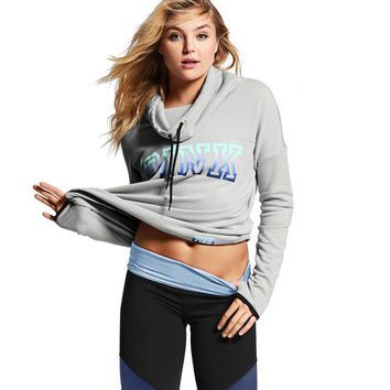 Hot Best Sell VS Secret Love Pink Hoodies Pullover Women Tracksuit Tumblr Instagram bts Sweatshirt Teen Girls Clothing moleton