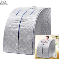 Family Sauna Steam Box Skin SPA Portable Steam Sauna Tent Steamer Slim Weight Loss