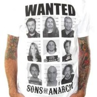 Sons Of Anarchy T-Shirt - Wanted Poster
